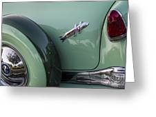 Hudson Hornet Greeting Card