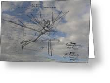Human Flight  Greeting Card