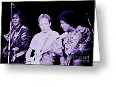 Humble Pie - On To Victory Tour At The Cow Palace S F 5-16-80 Greeting Card