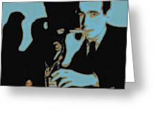 Humphrey Bogart And The Maltese Falcon 20130323m88 Square Greeting Card