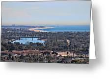 Huntington Beach View Greeting Card