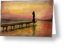 I Am Still Waiting For You Greeting Card