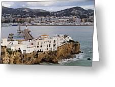 Ibiza Town Greeting Card