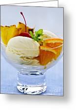 Ice Cream Greeting Card