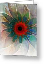 In Glass Greeting Card
