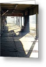 In The Shadows Of Mexicali Greeting Card