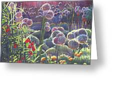 Incandescence Greeting Card