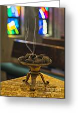 Incense Greeting Card