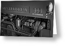 International 300 Utility Harvester Greeting Card