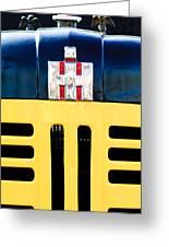 International Grille Emblem Greeting Card