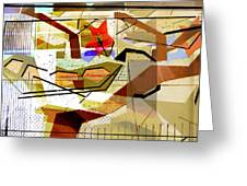 Interstate 10- Exit Out West- Where Life Begins New- Rectangle Remix Greeting Card