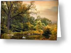Intimate Autumn Greeting Card