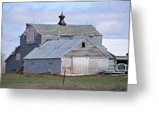 Iowa Barn Greeting Card