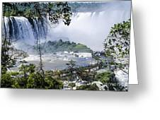Iquazu Falls - South America Greeting Card