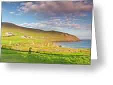 Ireland, County Kerry Slea Head Drive Greeting Card