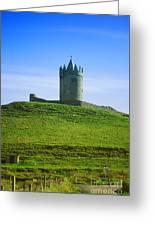 Irish Castle On Hill Greeting Card
