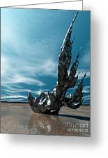 It Fell To Earth Greeting Card