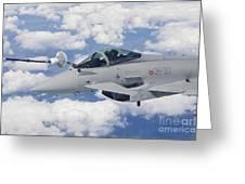 Italian Air Force Eurofighter Typhoon Greeting Card