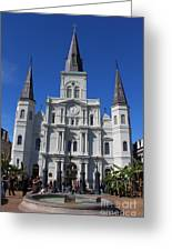 Jackson Square Greeting Card