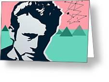 James Dean Greeting Card
