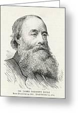 James Prescott Joule (1818-1889) Greeting Card