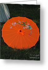 Japanese Umbrella Greeting Card