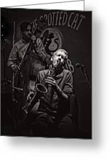 Jazz Passion Greeting Card