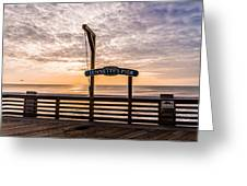 Jeanette's Pier  Greeting Card