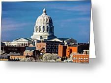 Jefferson City - Missouri - Missouri Greeting Card