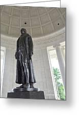 Jefferson Memorial # 6 Greeting Card