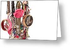 Jewellery Greeting Card