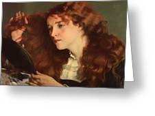 Jo The Beautiful Irish Girl Greeting Card