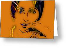 Joan Baez Collection Greeting Card