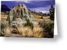 John Day Fossil Beds Nations Monuments Greeting Card