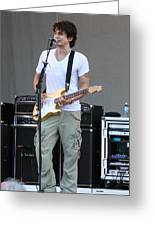 John Mayer  Taste Of Chicago Greeting Card