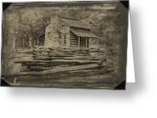 John Oliver Cabin In Cades Cove Greeting Card