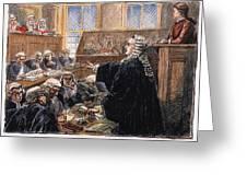 John Peter Zenger Trial Greeting Card