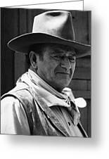 John Wayne Rio Lobo Old Tucson Arizona 1970 Greeting Card
