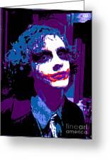 Joker 11 Greeting Card