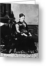 Julia Dent Grant (1826-1902) Greeting Card