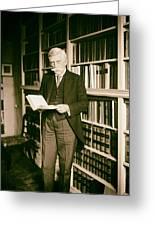 Justice Oliver Wendell Holmes 1924 Greeting Card