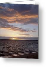Kailua Sunset Greeting Card