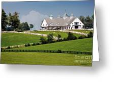 Keeneland Stables Greeting Card