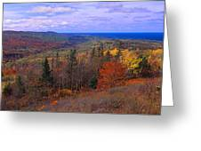 Keweenaw Peninsula And Copper Harbor Greeting Card