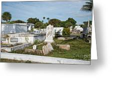 Key West Cemetery Greeting Card