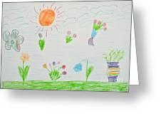 Kid's Artwork Greeting Card