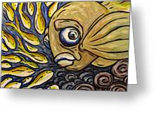 Responsible Fish Greeting Card