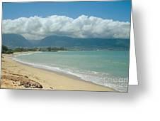 Kite Beach Kanaha Maui Hawaii Greeting Card