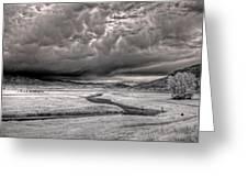 Kootenai Wildlife Refuge In Infrared 2 Greeting Card