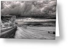 Kootenai Wildlife Refuge In Infrared 3 Greeting Card